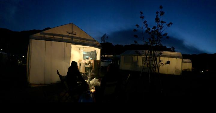 【グランピング施設で過ごすいちにち。】 in 五ケ山クロスキャンプ場