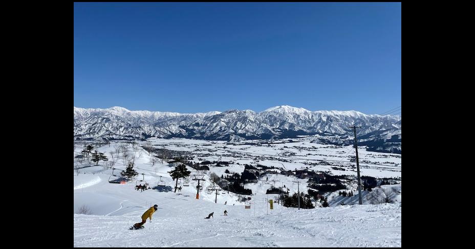 上越国際スキー場のコースとホテルの感想メモ【初心者は厳しい】